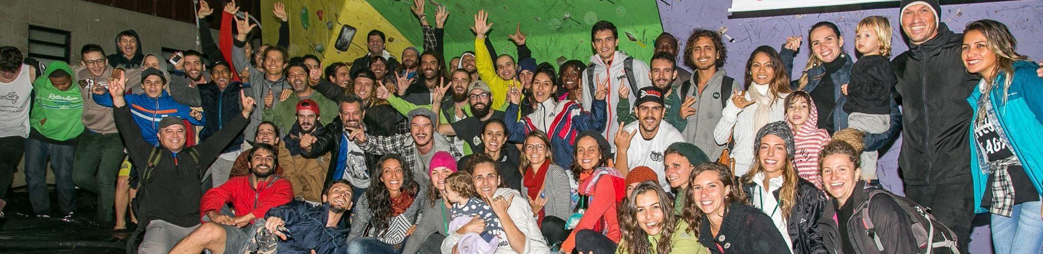 foto com maioria dos presentes na primeira etapa do ranking